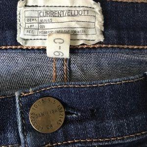 Current/Elliott Jeans - Current/Elliott The Stiletto Ankle Jean